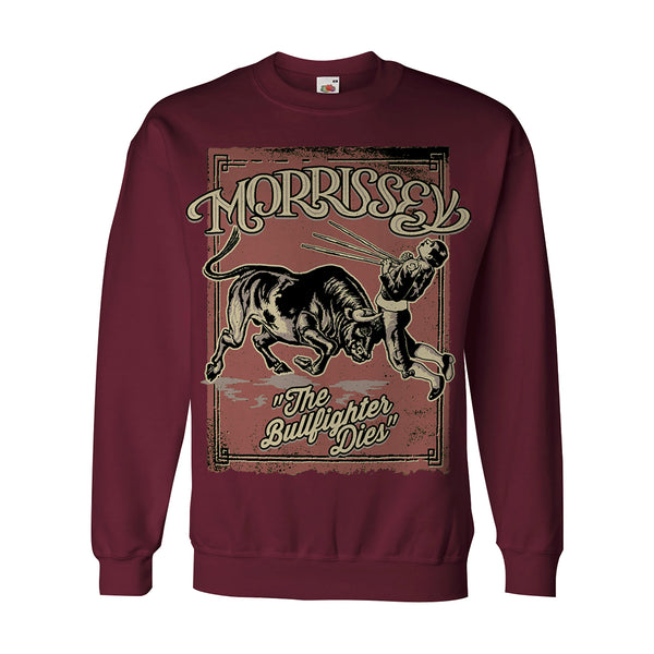 BURGUNDY BULLFIGHTER SWEATSHIRT