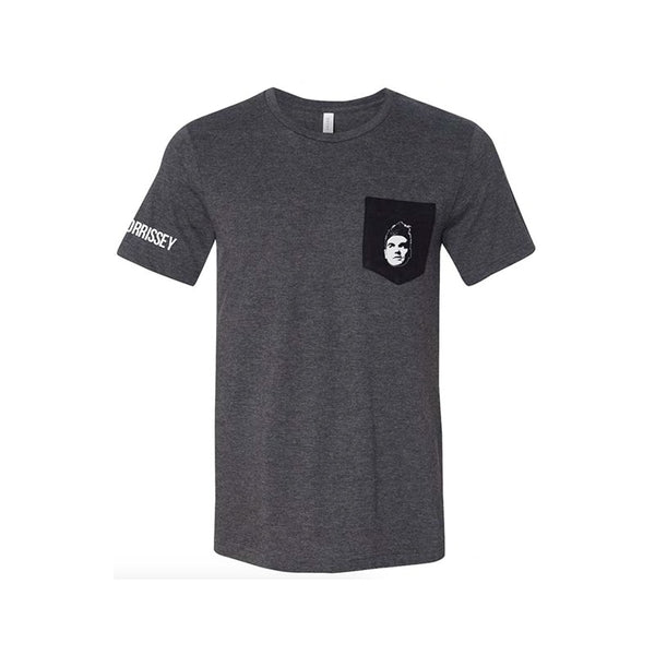 EVERYDAY FACE POCKET DARK HEATHER T-SHIRT