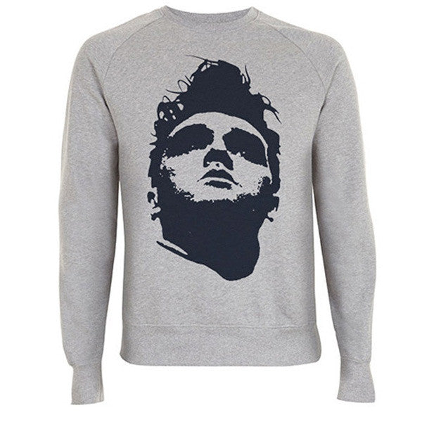 Face Sweatshirt Grey