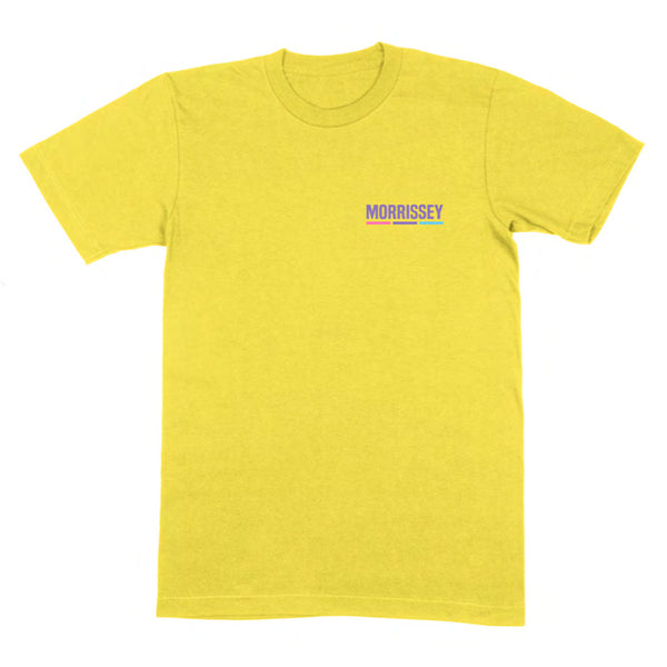 IANADOAC HALFTONE YELLOW T SHIRT