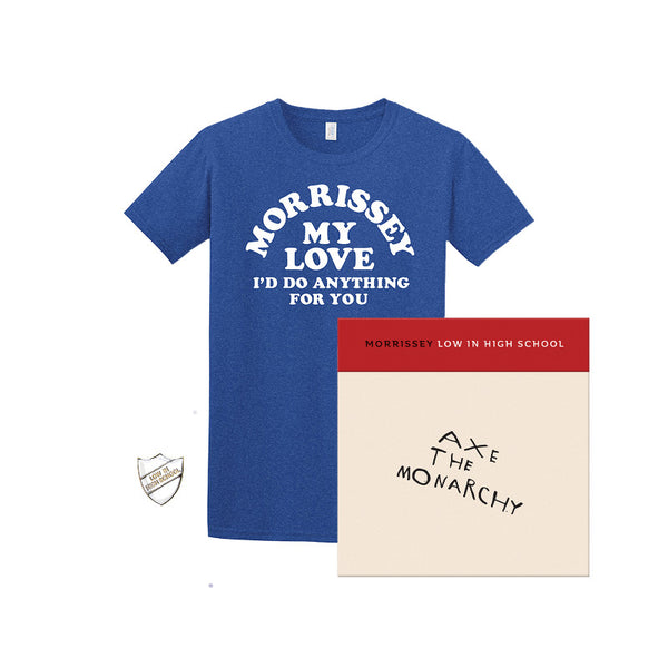 "Low In High School 7"" Box Set + My Love Tee + White Badge"