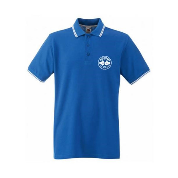 HARD KNOCKS ROYAL BLUE TIPPED POLO
