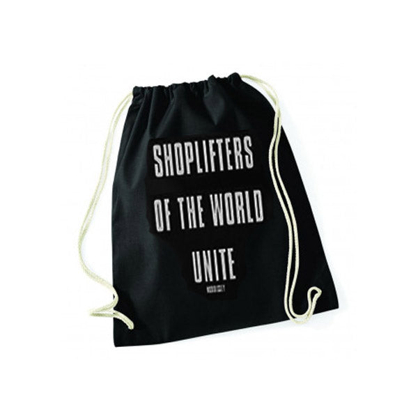 SHOPLIFTERS GYM SACK BLACK