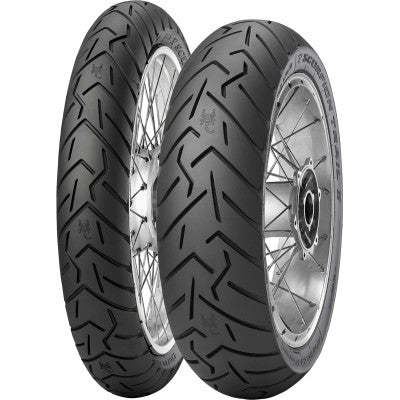 2526500 & 2527100 Pirelli Scorpion Trail Front and Rear Tire 110/80R19 150/70R17 for V85 TT