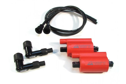 Ignition Coil Kit, Hi Volt for Ducati 2V Monsters and SS
