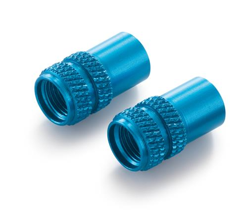 Valve Cap Set, Blue
