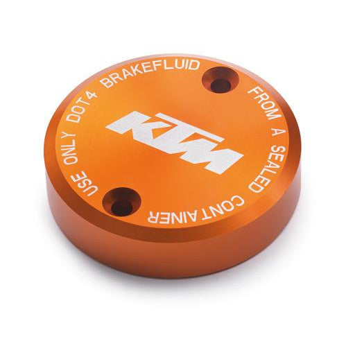 KTM Front Brake Reservoir Cap, Orange for 1290 Super Duke R 2018+
