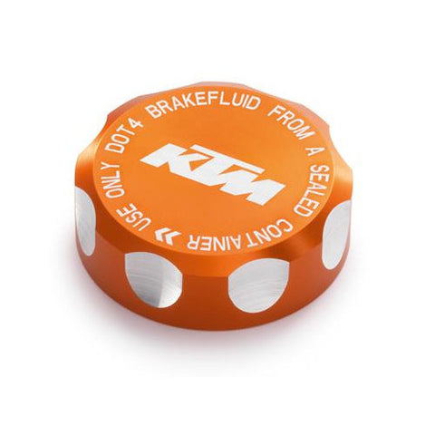 KTM Rear Brake Reservoir Cap, Orange for 890 Duke R 2020