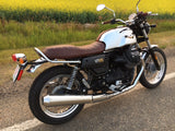 MG-V7III Mistral Exhaust Stainless Steel for Moto Guzzi V7 III