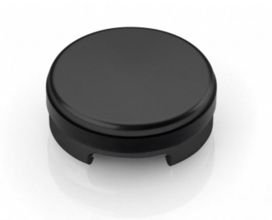 Rizoma Front Brake Fluid Reservoir Tank Cap in black for Ducati