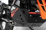 AXP Xtrem Skid Plate in black color for KTM 790 Adventure/R 2019+