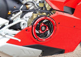Ducabike Clear Clutch Cover W/ Black or Red Casing