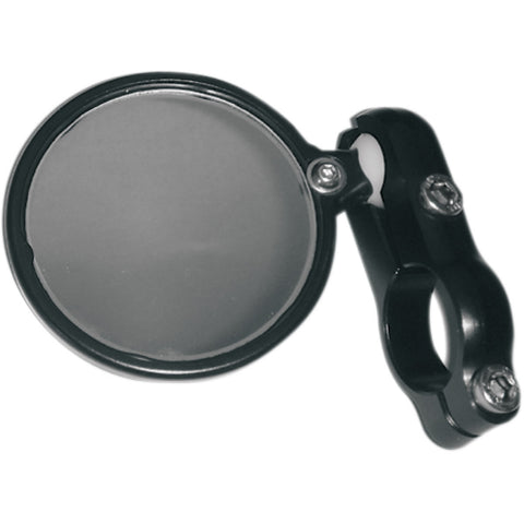 CRG Blindsight Bar End Mirror, Black w/Adapter Ducati