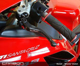 CRG Carbon Clutch Lever, Standard or Short for RSV4