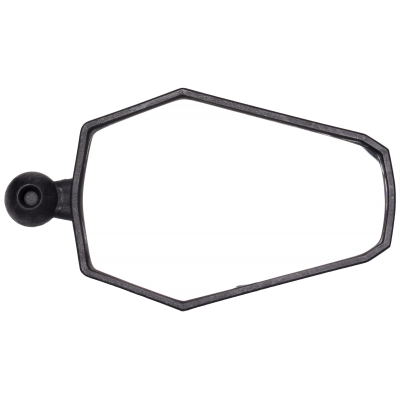 AXB Adventure Style Mirror by Double Take in Black.
