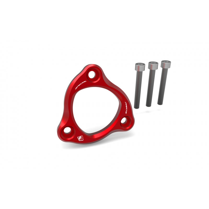 Ducabike Pressure Plate Retainer Ring in Red for Panigale V2, V4