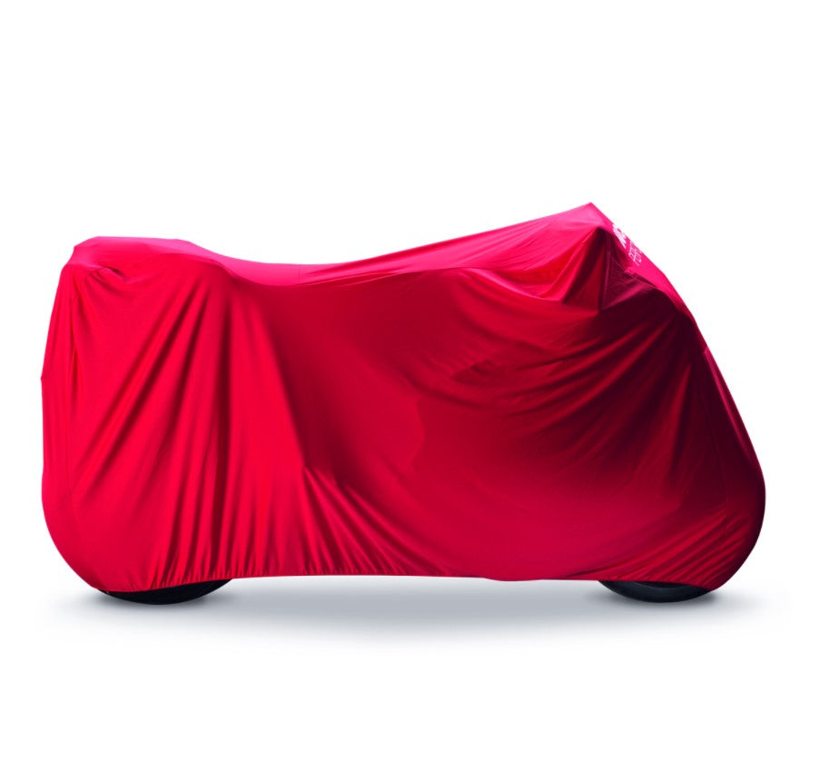 Ducati Performance Indoor Cover in Red for Panigale V2, V4