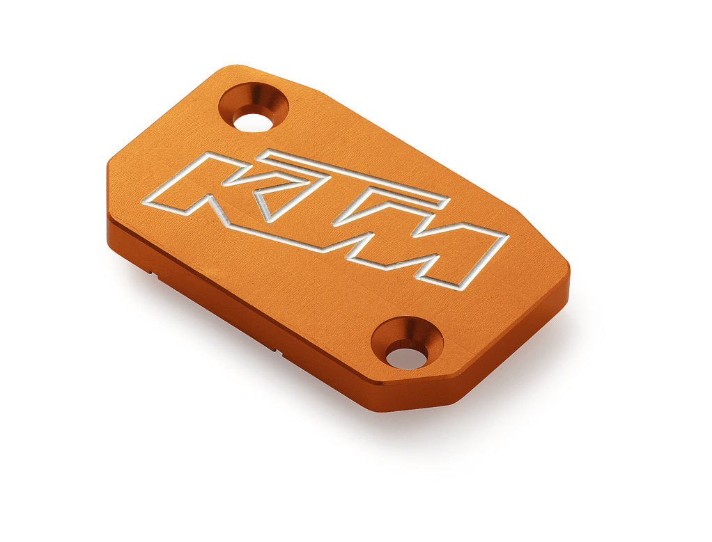 SXS05450210 KTM Brembo Brake and Clutch Reservoir Cover in Orange for EXC