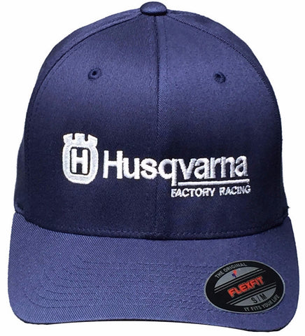GP and Husqvarna Logo Hat Blue