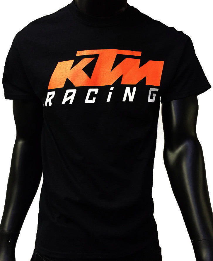 GP and KTM Logo Men's T-Shirt Black