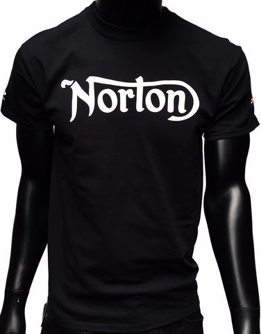 GP and Norton Logo Men's T-Shirt Black