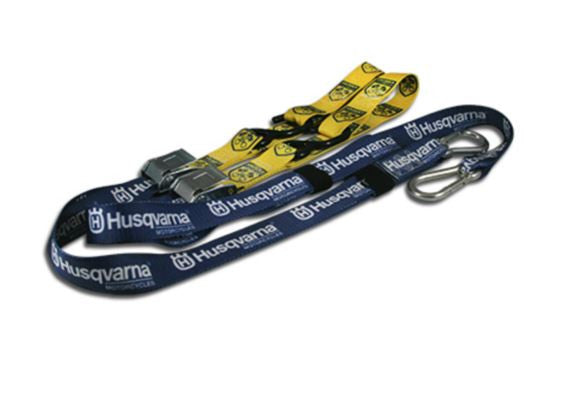 UHP1500110 Husqvarna Tie Down Set Blue and Yellow