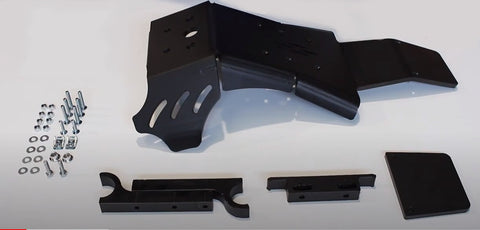 AXP Skid plate in black for KTM 200 SX, 250/300 SX/XC 2019-2021