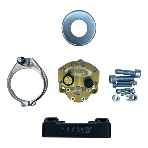 [Out of Stock] Scotts Sub Mount Steering Stabilizer Kit EXC 2020+