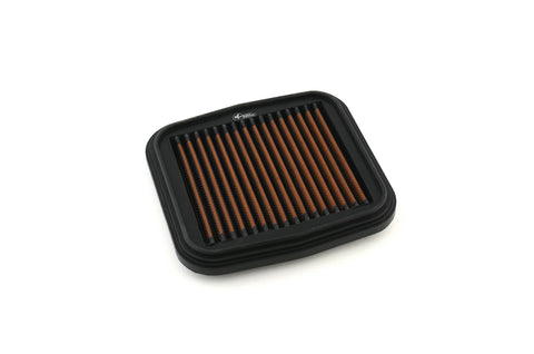 Sprint P08 air filter in black and red for Ducati Panigale V2
