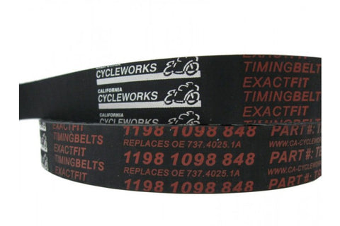 CA Cycleworks ExactFit Timing Belt for 1200, 1198/1098/848, 821, 939 (sold each)