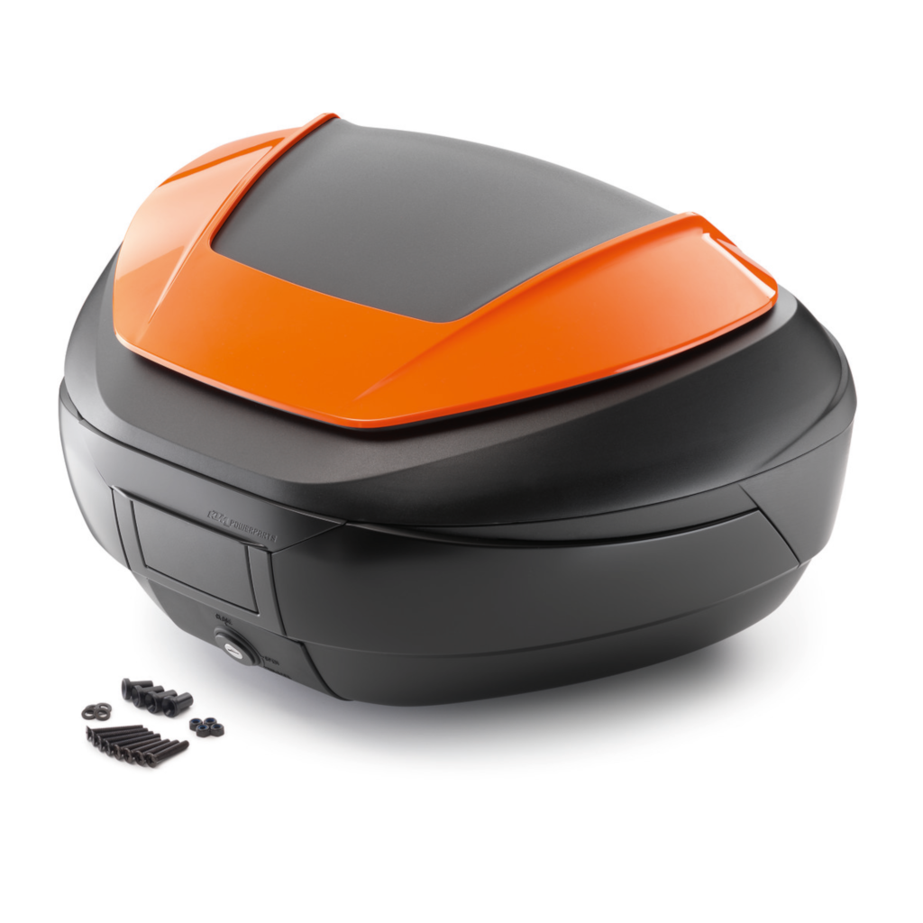 KTM Powerparts Top Case in orange/black for 790/890 Adventure