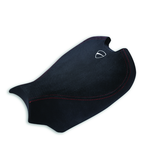 Ducati comfort seat in black color for Panigale V4