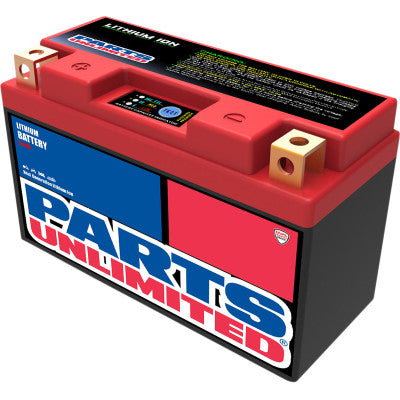 Parts Unlimited Lithium Ion Battery YT7B-BS