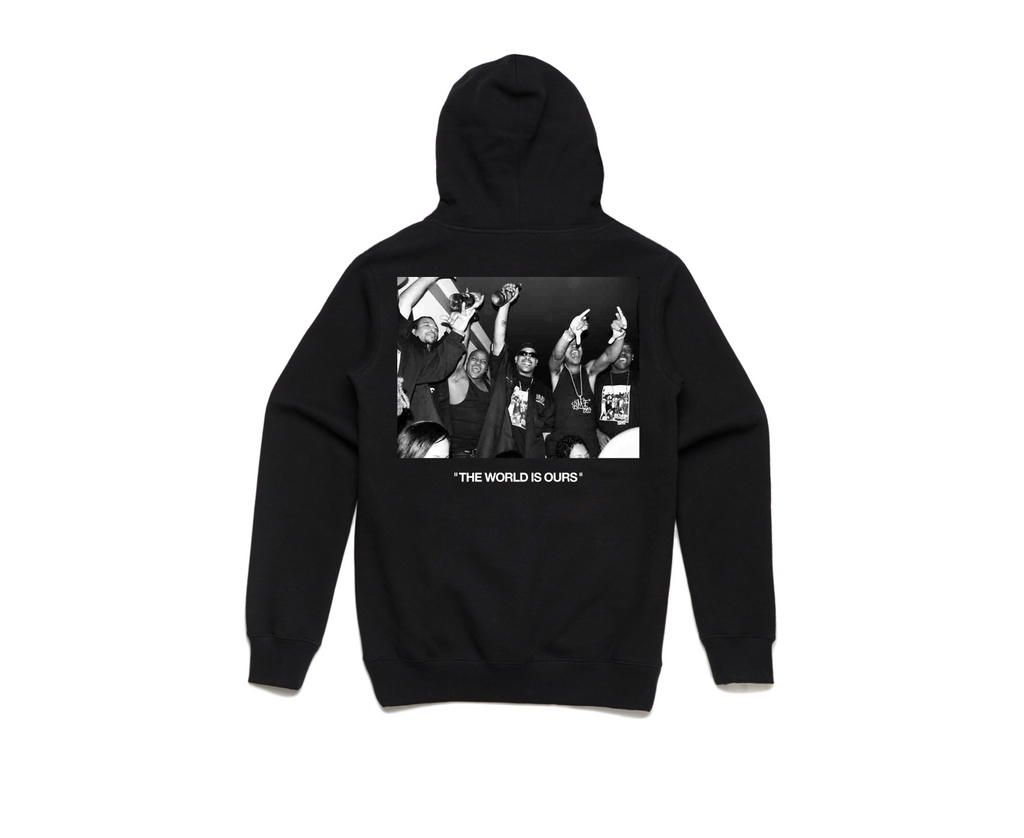 BMF x DIEM - World Is Ours Hoodie