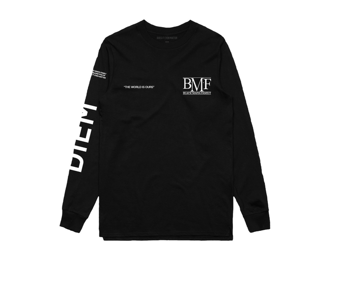 BMF x DIEM - World Is Ours Long Sleeve Tee