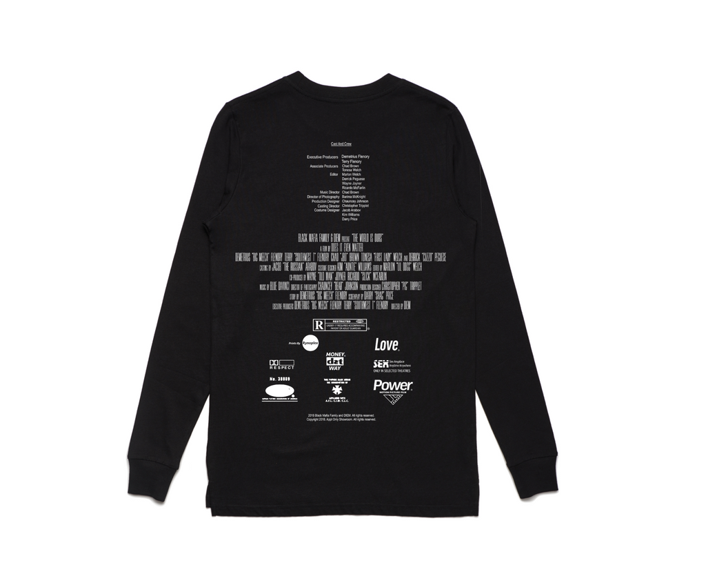 BMF x DIEM - Movie Long Sleeve Tee