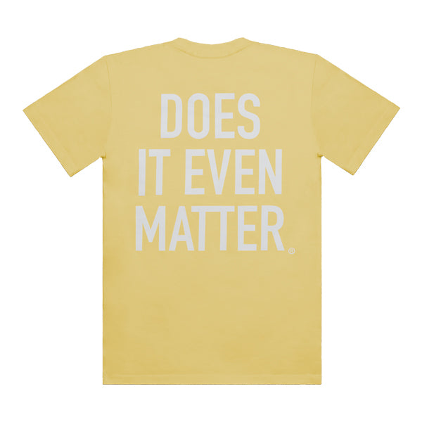DIEM Logo Premium T-Shirt Yellow