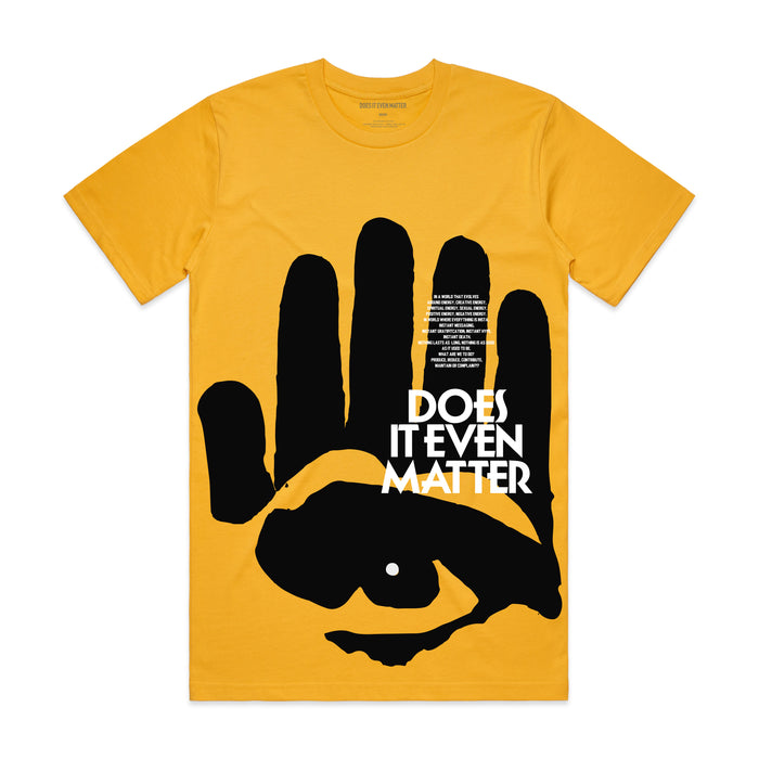 Yellow Black Handed Vision T-Shirt