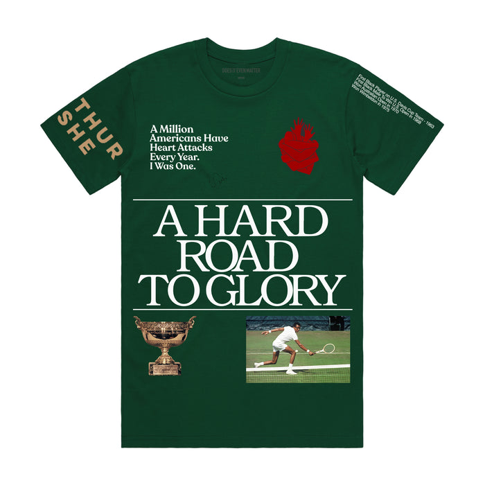 A Hard Road To Glory T-Shirt - Green