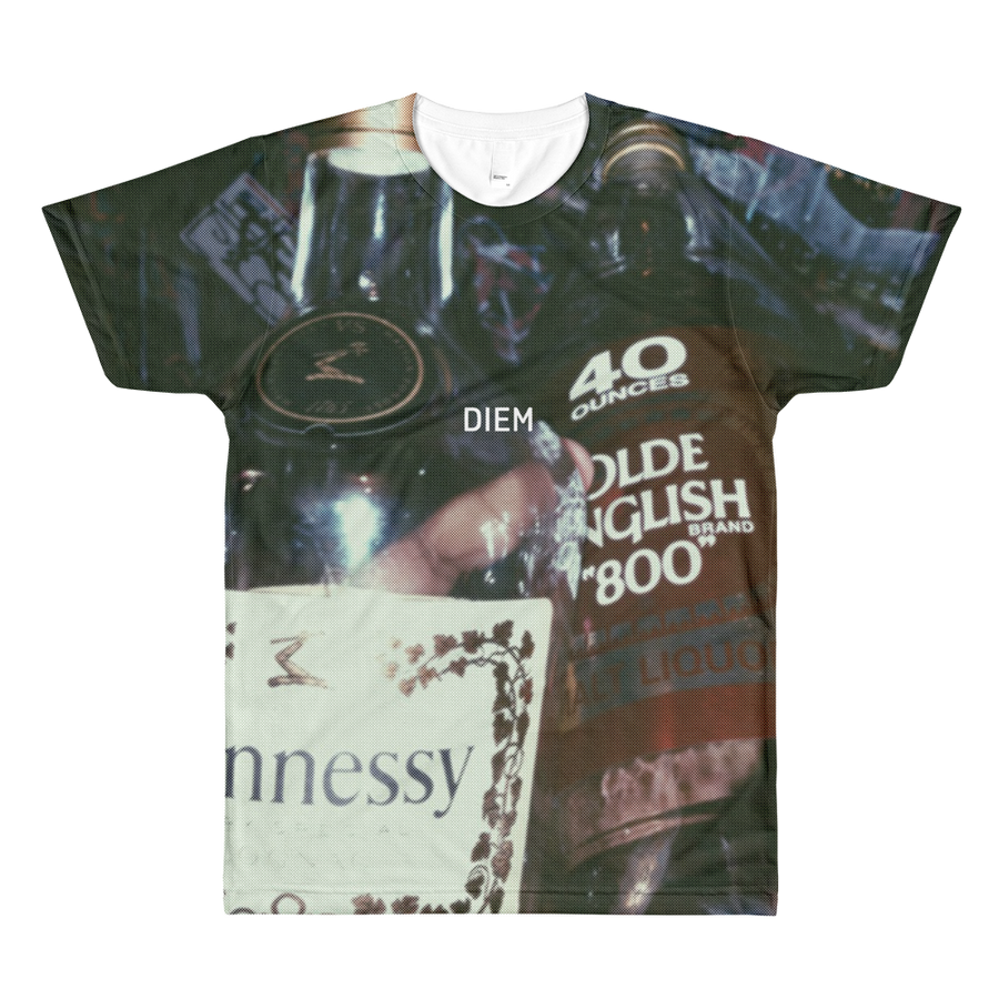Henny x 40 oz All-Over Printed T-Shirt