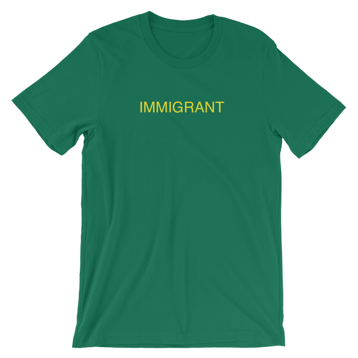 DIEM Immigrant Premium T-Shirt - Green