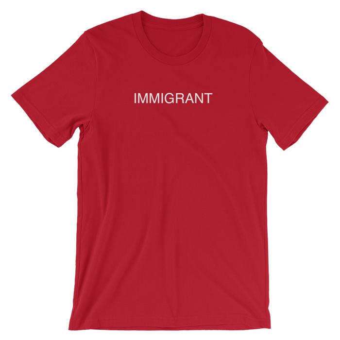 DIEM Immigrant Premium T-Shirt - Red
