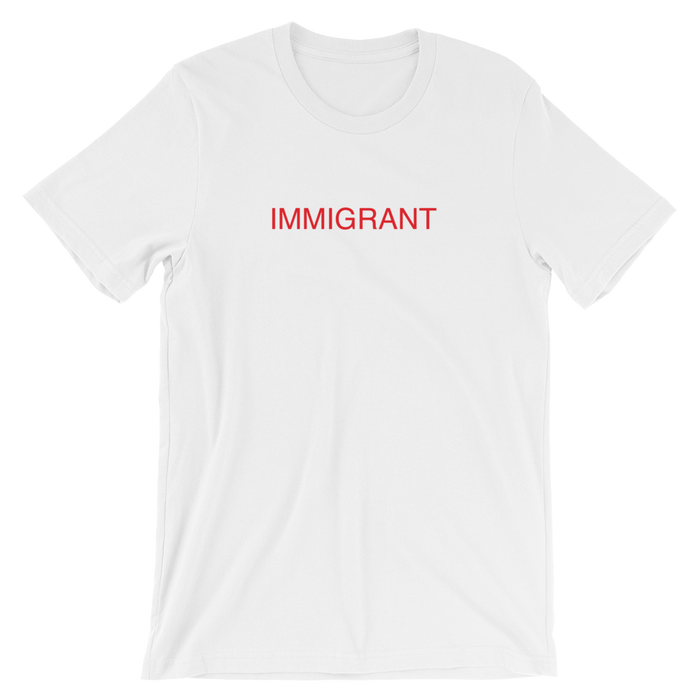 DIEM Immigrant Premium T-Shirt - White
