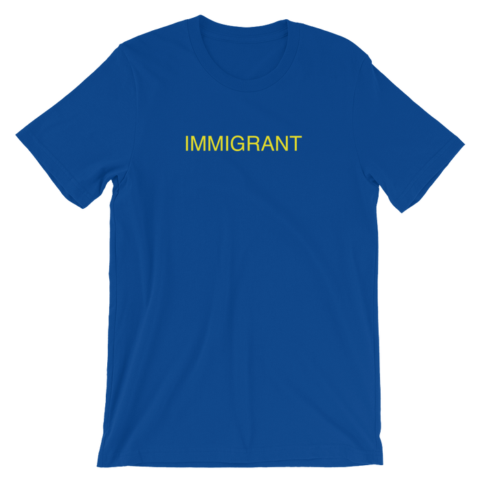 DIEM Immigrant Premium T-Shirt - Royal