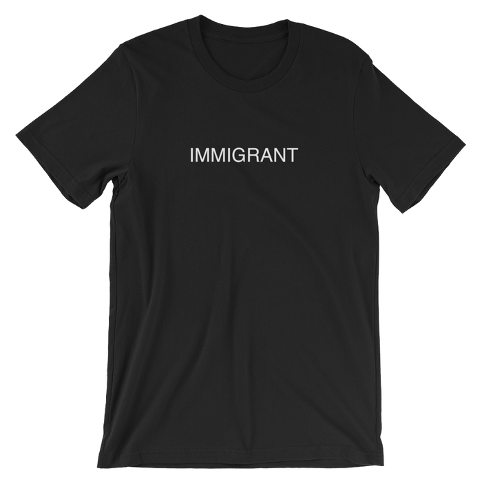 DIEM Immigrant Premium T-Shirt - Black