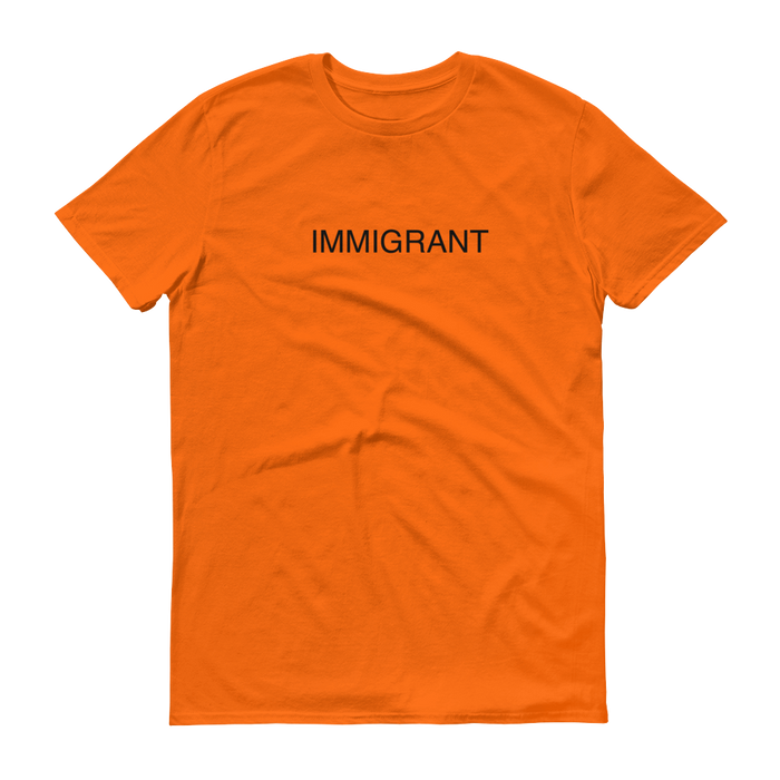 DIEM Immigrant Premium T-Shirt - Orange