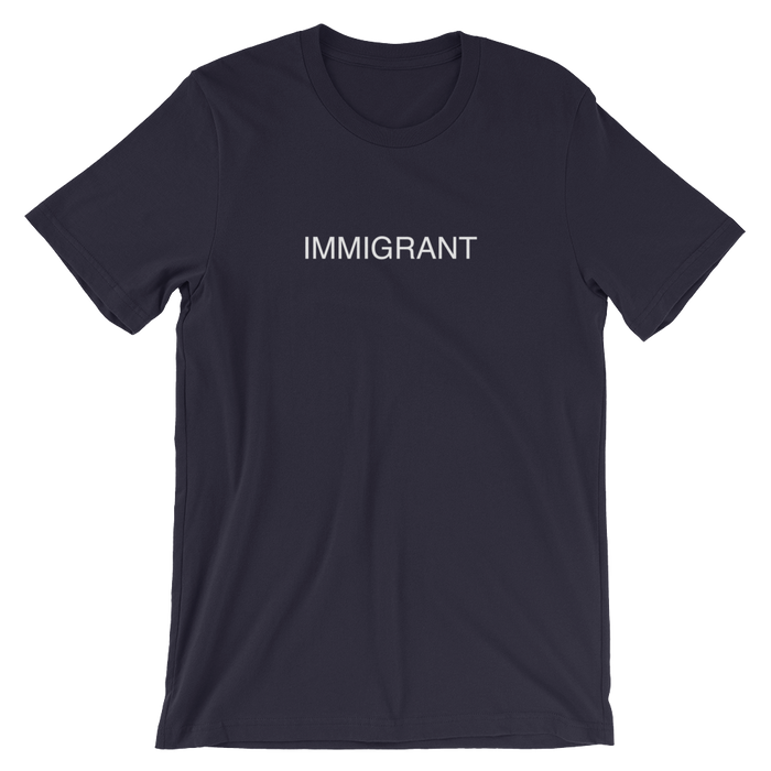 DIEM Immigrant Premium T-Shirt Navy