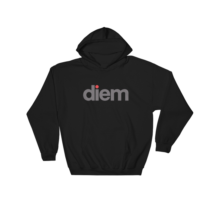 DIEM Lo Hooded Sweatshirt - Infared