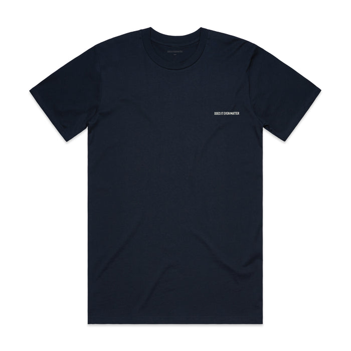 Does It Even Matter Logo Premium T-Shirt Navy