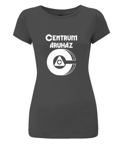 "Women's Slim-Fit Jersey T-Shirt ""Centrum"""